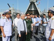 Party chief puts trust in naval force