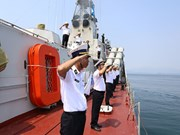 Ship serving General Election reaches Sinh Ton island