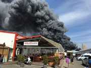 Fires break out at Vietnamese market in Berlin