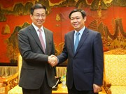 Deputy PM welcomes Shanghai party secretary