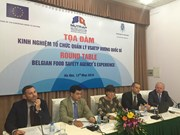 Belgium shares experience on food safety with Vietnam