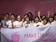 Makeup programme fuels women's strength to fight breast cancer