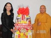 Congratulations to HCM City Buddhists on Buddha's birthday