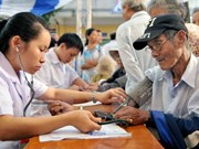 Hanoi: Free check-ups offered to the elderly in Son Tay town