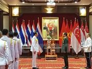 Vietnamese official granted Thai Knight Grand Cross