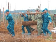 Two massive bombs defused in Dak Nong province