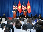 Vietnamese, US Presidents chair international press conference