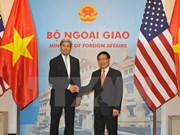 Vietnam, US's top diplomats hold talks in Hanoi