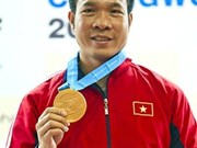 Vinh wins World Cup bronze for shooting