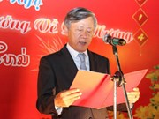Talks on President Ho Chi Minh's thoughts held in Laos
