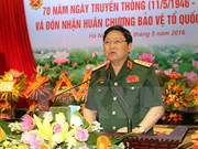 Vietnamese Defence Minister visits Cambodia