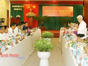 Binh Phuoc, Lao province step up cooperation