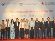 Vietnam, RoK hold copyright forum
