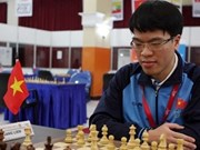 Liem ranks 2nd at Asian chess championship
