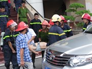One people dead in fire at Hai Phong TV station