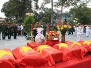Martyrs' remains reburied in HCM City