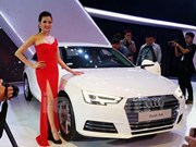 Audi displays latest models in Hanoi