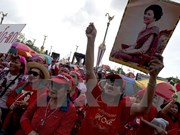 Thailand's red-shirts meet UN high commissioner for human rights