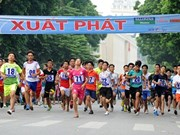 Newspaper holds traditional Run for Peace