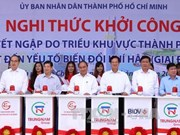 PM witnesses launch of two big projects in HCM City