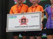 Vietnamese pair clinch Canada Open badminton title