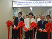 First simulation training lab for anesthesia opens in Vietnam