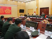 Local Vietnamese, Lao military units bolster ties