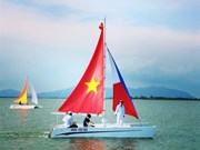 Quang Binh holds first ever sailboat performance