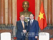 Japan-VN Friendship Parliamentary Alliance Special advisor on visit