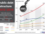 Government debts make up over 80 percent of public debt