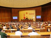 Third working day of 14th National Assembly first session