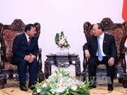 Prime Minister bids farewell to Cambodian ambassador