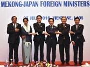 Japan – Mekong foreign ministers gather in Laos