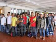 Indonesia returns Vietnamese fishermen