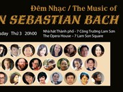 Music of JS Bach to enthrall HCM City audience
