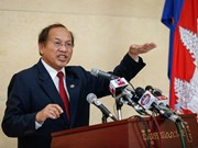 Cambodian government comes out strong against opposition