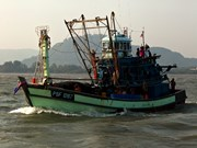 Myanmar seizes illegal Thai fishing boat