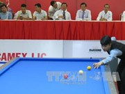 International billiards tournament opens in Binh Duong