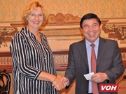 HCM City leader hosts UNICEF Regional Director