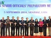 Senior officials of ASEAN countries meet