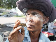 Cambodia launches campaign against smoking in tourist city
