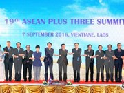 ASEAN+3 leaders vow to promote sustainable development