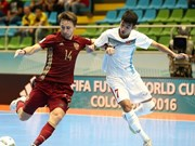 Vietnam lose to Russia in Futsal World Cup knock-out stage