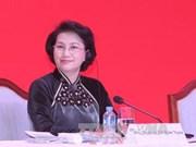 Cambodia newspaper highlights Vietnamese top legislator's visit
