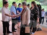 Female ambassadors visit Ninh Binh