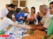 Overseas Vietnamese committee delegation works in Binh Phuoc