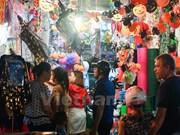 Hang Ma Street busy ahead of Halloween