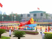 Asian leaders congratulate Vietnam on 70th National Day