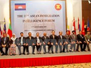 ASEAN senior immigration officials discuss cooperation in Cambodia