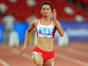 Vietnamese athlete wins 200m gold at Thai Open